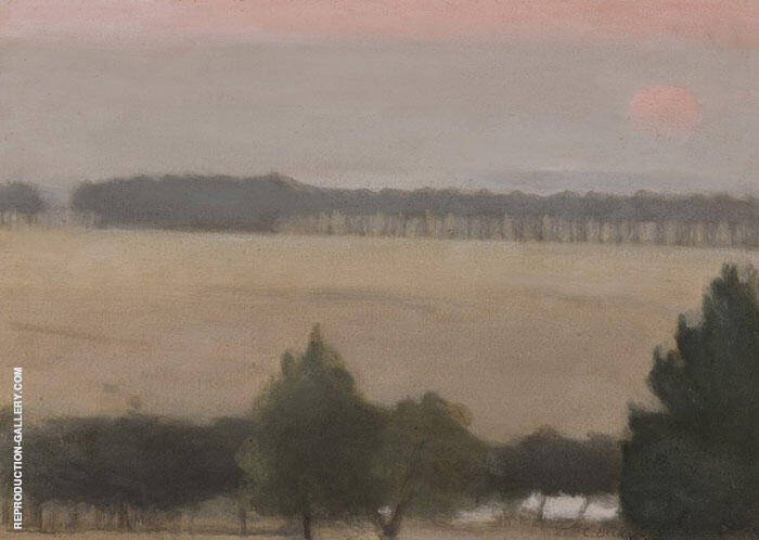 Naringal Landscape 1926 By Clarice Beckett