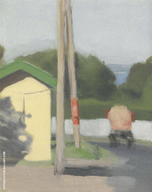 The Bus Stop 1930 By Clarice Beckett