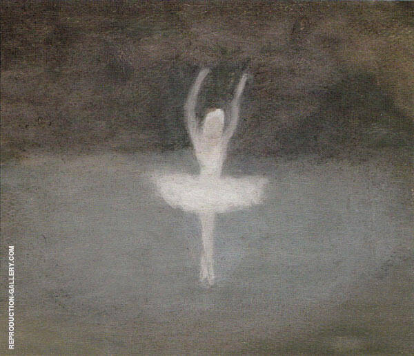 Pavlova, Dying Swan 1939 Painting By Clarice Beckett