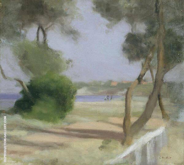 Beaumaris Foreshore 1926 Painting By Clarice Beckett