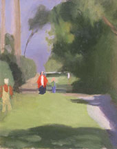 Out Strolling By Clarice Beckett