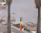 Mordialloc Pier, The Petrol Pump 1927 By Clarice Beckett