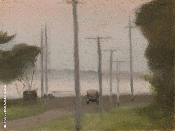 Evening Painting By Clarice Beckett - Reproduction Gallery