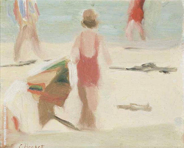 Sunny Day Painting By Clarice Beckett - Reproduction Gallery