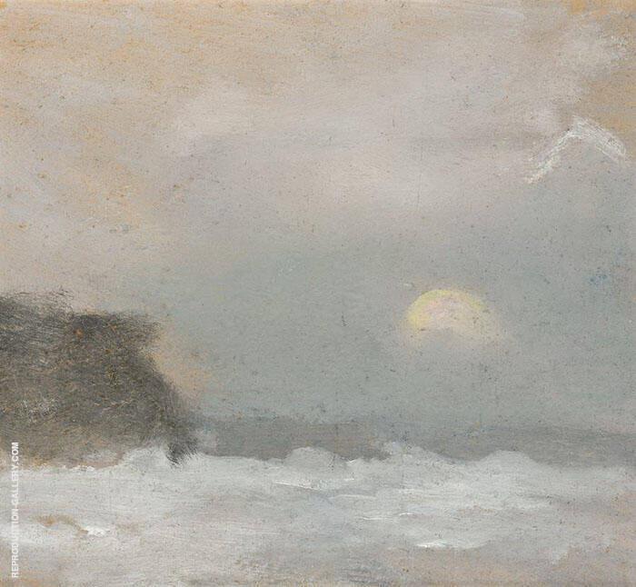 Moonrise, Beaumaris By Clarice Beckett