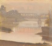 Yarra Sunset 1930 By Clarice Beckett