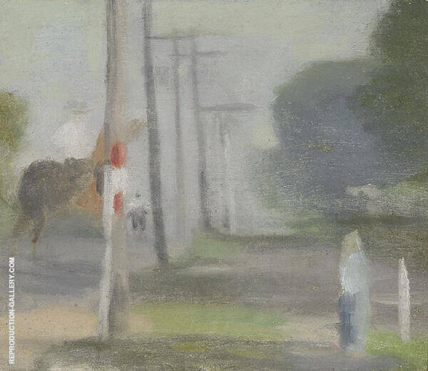 Morning Ride Painting By Clarice Beckett - Reproduction Gallery
