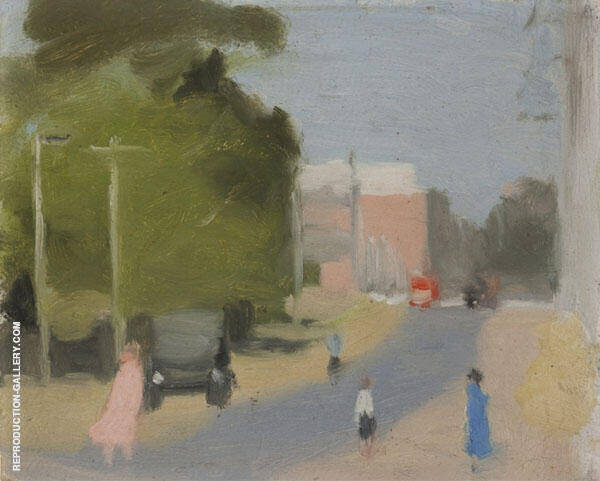 Beaumaris Undated Painting By Clarice Beckett - Reproduction Gallery