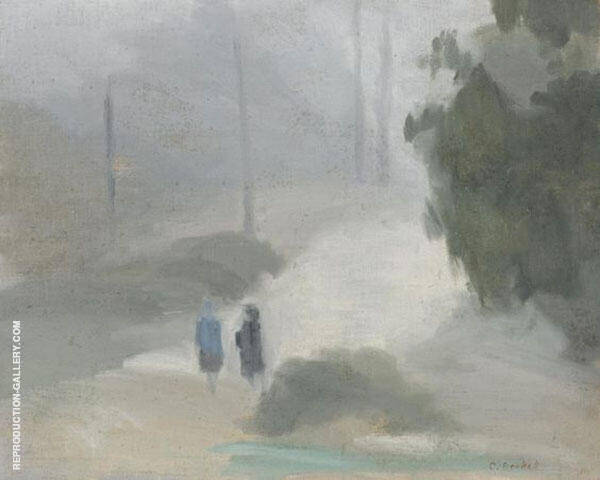 Rainy Morning Painting By Clarice Beckett - Reproduction Gallery