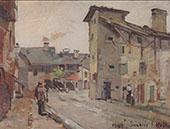Samoens 1882 By Ferdinand Hodler