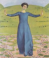 Song from Afar 1906 By Ferdinand Hodler