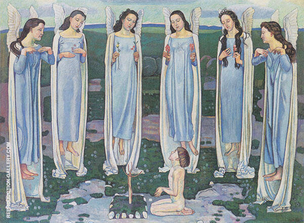 The Chosen One 1903 Painting By Ferdinand Hodler - Reproduction Gallery