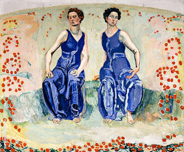 The Sacred Hour By Ferdinand Hodler