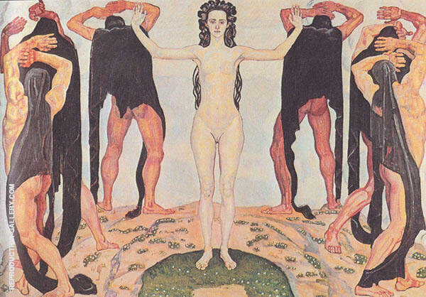 The Truth II 1903 By Ferdinand Hodler