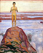 View into Infinity III 1905 By Ferdinand Hodler