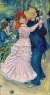Dance at Bougival 1883 By Pierre Auguste Renoir