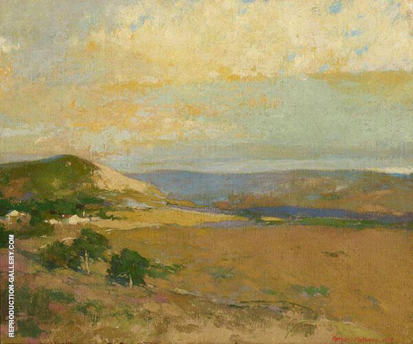 Californian Landscape 1934 Painting By Arthur Frank Mathews