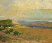 Californian Landscape 1934 By Arthur Frank Mathews