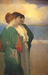 Song of The Sea The Three Graces By Arthur Frank Mathews
