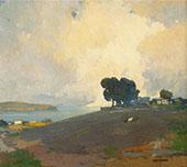 Summertime c1915 By Arthur Frank Mathews