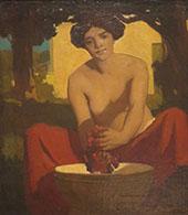 The Grape The Wine Maker By Arthur Frank Mathews