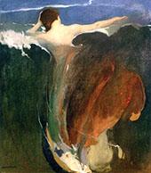 The Wave By Arthur Frank Mathews