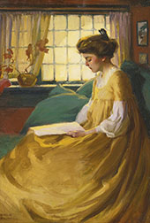 Afternoon Respite By Mabel May Woodward