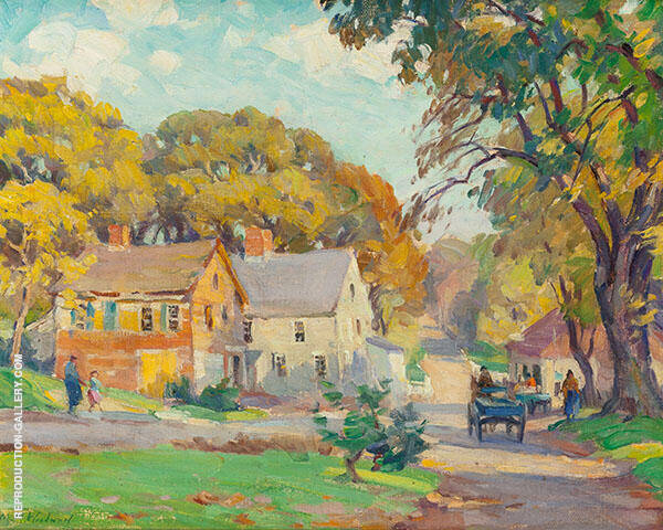 New England Summer By Mabel May Woodward