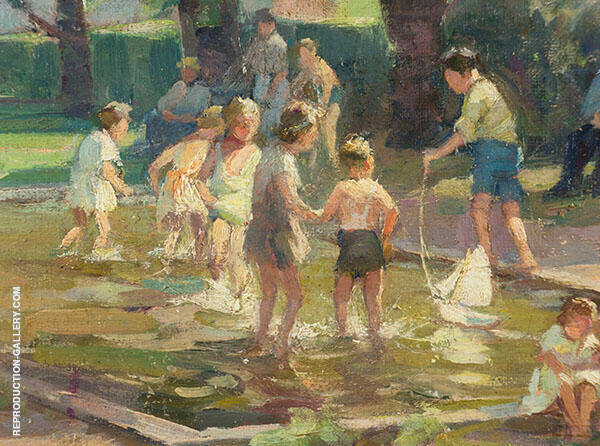 Playground By Mabel May Woodward