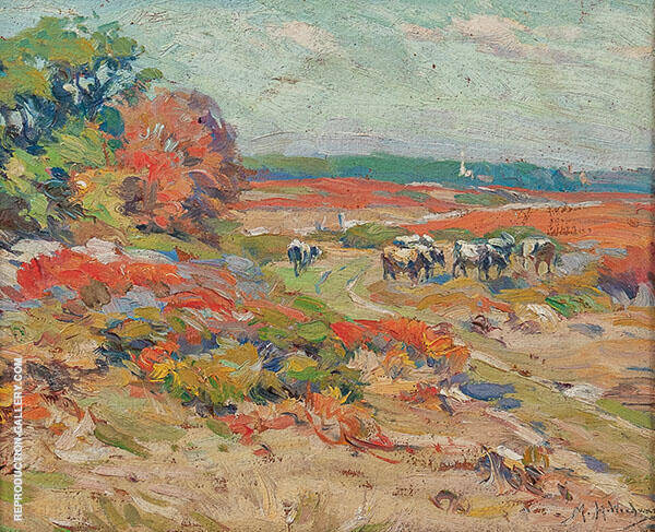 Seaside Pasture By Mabel May Woodward