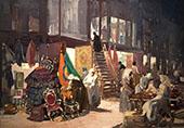 Allen Street 1905 By George Luks