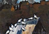 Dove Cote 1925 By George Luks