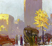 Fifth Avenue New York By George Luks