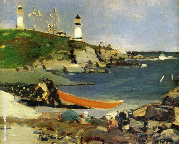 Hannaford's Cove By George Luks