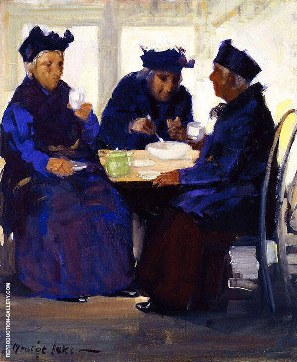 The Tea Party 1922 By George Luks