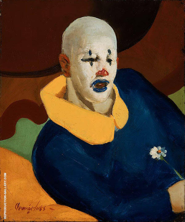 The Clown 1929 By George Luks