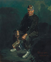 The Fire Boss By George Luks