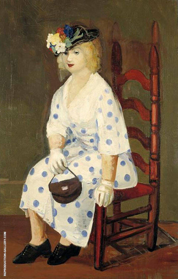 The Polka Dot Dress By George Luks