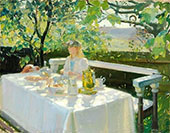 Lunch Time By Anna Ancher