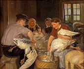 Plucking The Goose 1904 By Anna Ancher
