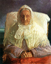 Portrait of The Artist's Mother 1913 By Anna Ancher
