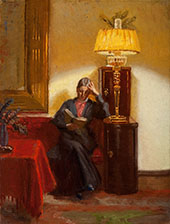 Reading in The Drawing Room By Anna Ancher