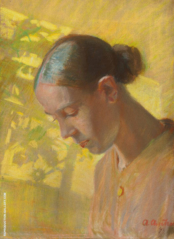 Self Portrait By Anna Ancher