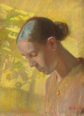 Self Portrait By Anna Ancher