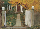 The Entrance to our Garden 1903 By Anna Ancher
