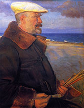 Michael Ancher 1901 By Anna Ancher
