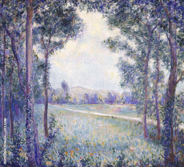 On The Way to Liimetz Giverny By Theodore Earl Butler