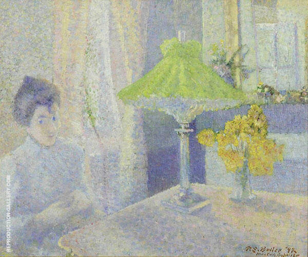 Suzanne by The Lamp Maison Baptiste By Theodore Earl Butler