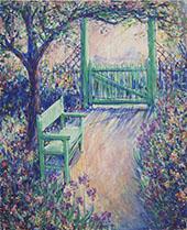 The Artist's Garden Green Chair By Theodore Earl Butler