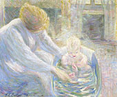 The Bath Giverny 1894 By Theodore Earl Butler
